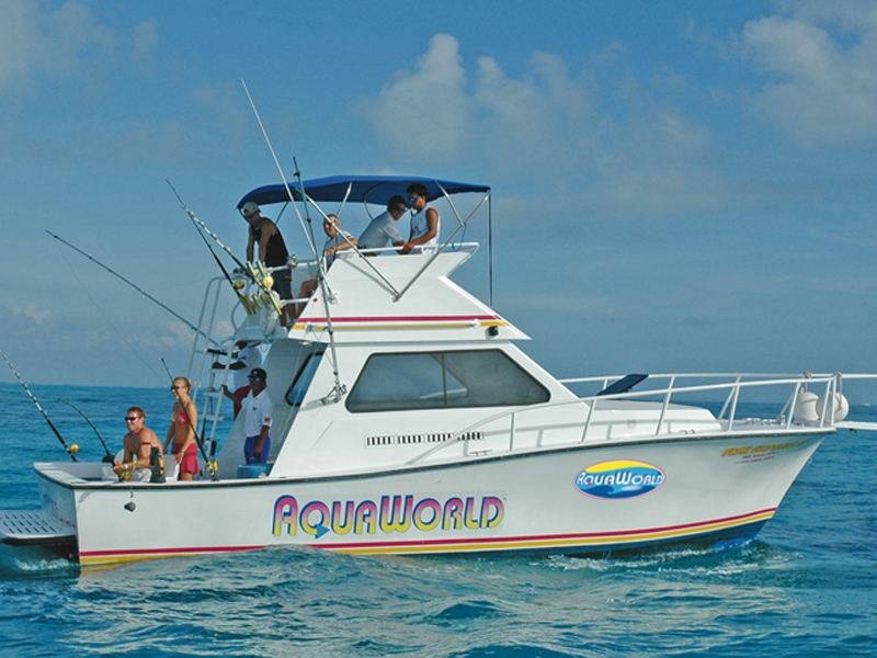 Fishing in cancun with aquaworld weekly catch reports for Cancun fishing trips
